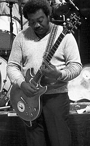 """Joe """"Guitar"""" Hughes - Joe """"Guitar"""" Hughes in 1983"""