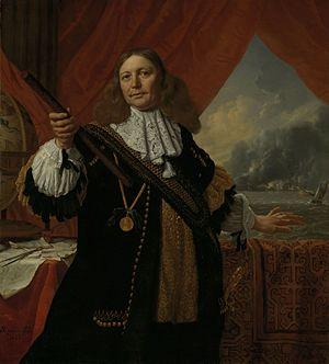 Johan de Liefde (admiral) - Johan de Liefde by Bartholomeus van der Helst (Rijksmuseum Amsterdam)