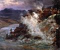 Johann Christian Clausen Dahl - Waterfall in Norway - Alte Nationalgalerie Berlin.jpg