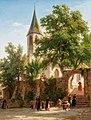 Johann Jakob Vollweider Ansicht einer Kirche 1857.jpg