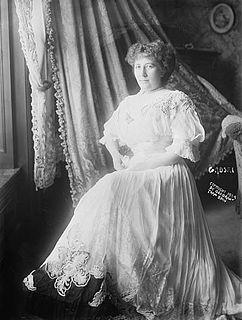 Johanna Gadski German-born operatic soprano