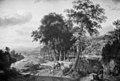 Johannes Lingelbach - Southern Landscape, Sunset - KMSsp580 - Statens Museum for Kunst.jpg