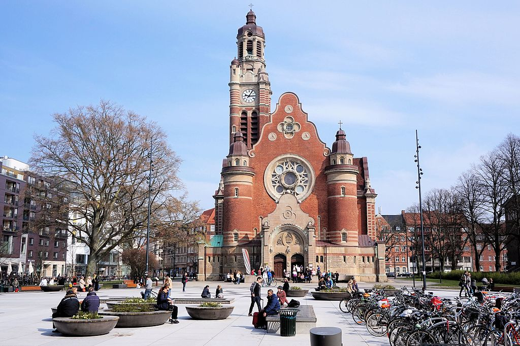 Eglise art nouveau Sankt Johannes à Malmo - photo de Arniiiwebmovie