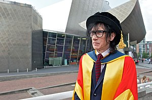 John Cooper Clarke - Clarke receives an honorary degree from the University of Salford, 2013.