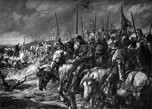 John Gilbert - The Morning at Agincourt