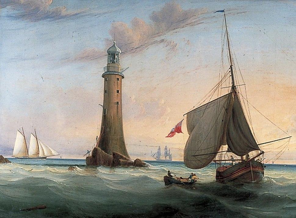 John Lynn - Smeaton's Eddystone Lighthouse