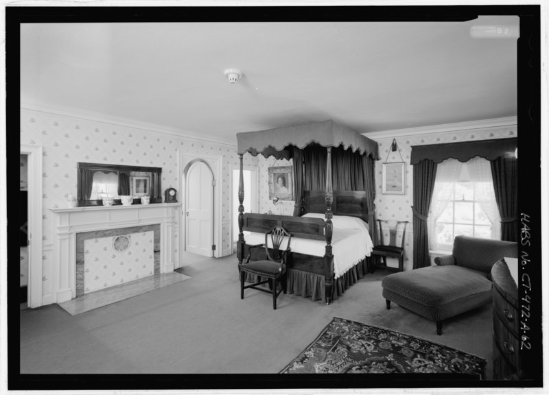 File John Riddle 39 S Bedroom In Master Suite View From North Northeast Note Connecting Door To