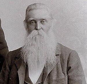 Chronology of Presiding Patriarchs (LDS Church) - Image: John Smith (nephew)1895