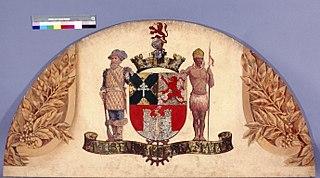 Brasão com Armas de Santo André