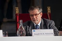 Joseph H. H. Weiler - The State of the Union 2013.jpg
