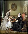 Josephus Laurentius Dyckmans - La Fête de la Grandmère.jpg