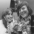 Josine van Dalsum en John van de Rest (1974).jpg