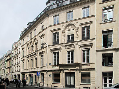 Hotel Rue Balzac  Paris