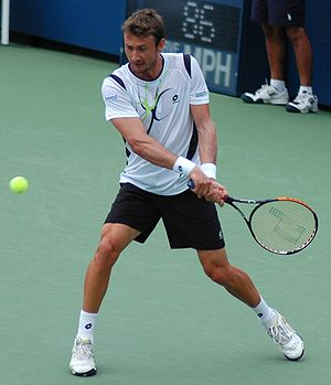 Juan Carlos Ferrero - Ferrero during the 2009 US Open