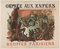 Jules Chéret - Poster for Jacques Offenbach's Orphée aux enfers at the Bouffes Parisiens - Original.jpg