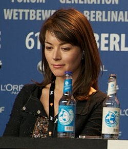 Justine Waddell at the Berlin Film Festival in 2011.jpg