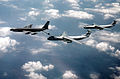 KC-135A refueling two C-141Bs 1983.JPEG