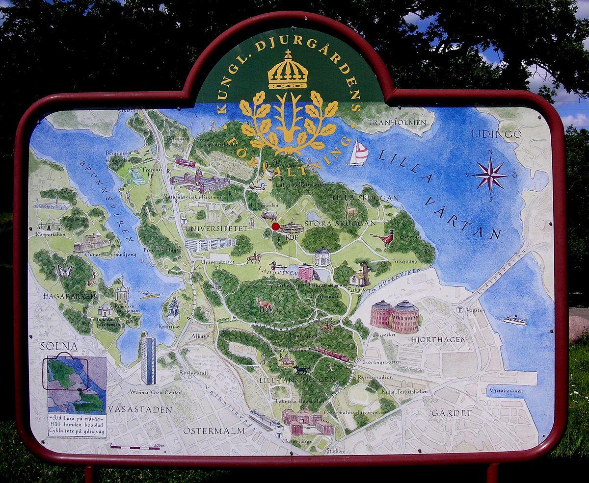 karta stora skuggan Norra Djurgården – Wikipedia karta stora skuggan