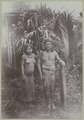 KITLV - 25673 - Demmeni, J. - A Murung Dayak with his wife, Central Borneo - 1896-1897.tif