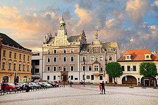 Kolín Town in the Czech Republic