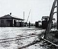 KZ Bergen-Belsen Haupteingang@1945.jpg