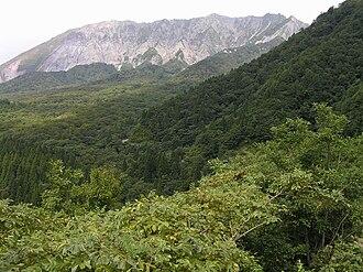 Kōfu, Tottori - Mount Kagikake, Kōfu, Tottori Prefecture