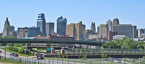 English: Kansas City, Missouri skyline