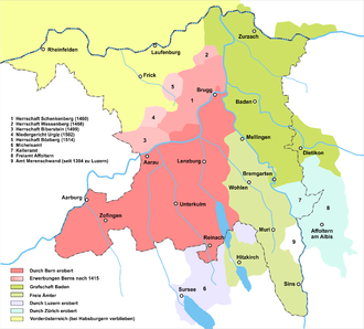 Geschichte des Kantons Aargau – Wikipedia