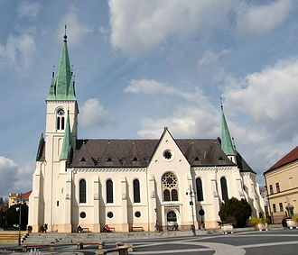 Roman Catholic Diocese of Kaposvár - St Mary's Cathedral, Kaposvár