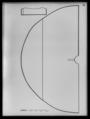 Kappa av svart sidenrips - Livrustkammaren - 60161.tif