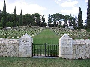 Battle of Doiran (1918) - Image: Karasouli Polykastro British Military Cemetery