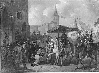 Anno 1582. De huldiging van Anjou te Antwerpen