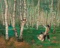 Karl Mediz - Der Birkenwald (1894).jpg
