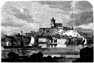 Carlsten - Image: Karlstens fästning (ur Svenska Familj Journalen 1867)