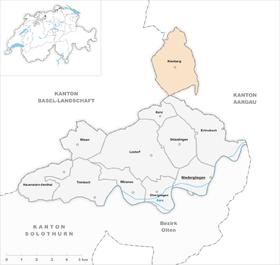 Map of Kienberg