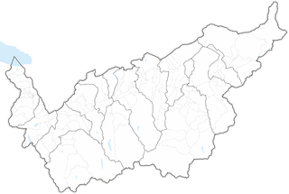 Municipalities of the canton of Valais