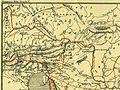 Karte aus dem Buch Römische Provinzen von Theodor Mommsen 1921 16m.jpg