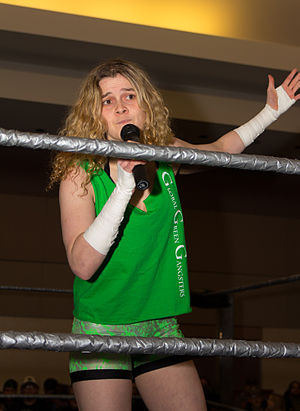 Kellie Skater - Skater as part of 3G (Global Green Gangsters) in 2013.