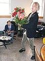 Ken presents dumpster find Our Community Place Harrisonburg VA April 2008.jpg