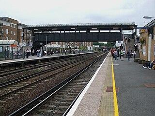 Kensington (Olympia) station London Underground and railway station