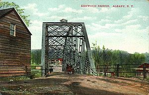 Kenwood, Albany, New York - Bridge over Normans Kill along the Albany and Bethlehem Turnpike; 1908