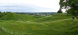 Kernavė - Hill forts 01.jpg