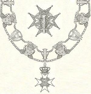 Order of Vasa - Image: Keten van de Vasa Orde