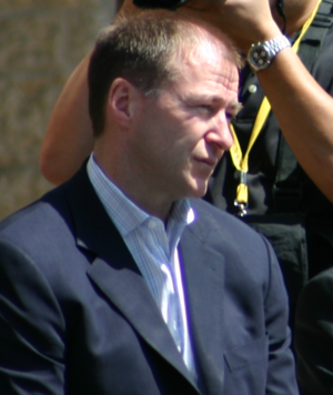 Kevin Lowe - Kevin Lowe pictured at an Edmonton Oilers Community Appreciation event, 2006