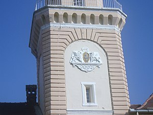 Kikinda - Coat of arms on the City Hall