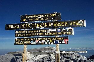 Kilimanjaro Uhuru Peak Sign.jpg