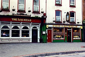 Killarney - High Street - The Laurels Singing Pub - geograph.org.uk - 1624673.jpg