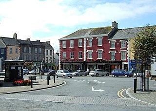Kilrush Town in Munster, Ireland