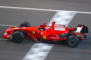 2008 Chinese Grand Prix - Kimi Räikkönen started from second on the grid