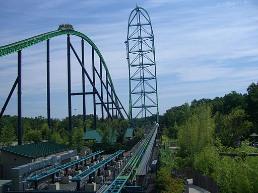 Kingda Ka (Full Layout)